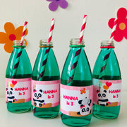 Panda Drinks Labels