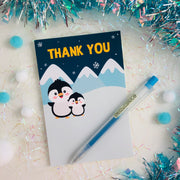 Penguin Thank You Card (FREE)