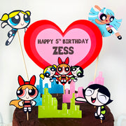 Powerpuff Girls Cake Topper