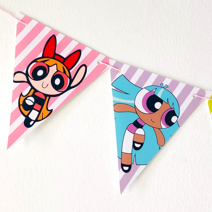 Powerpuff Girls Party Banners