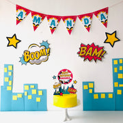 Supergirl Party Decor