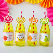Tutti Frutti Bottle Stickers