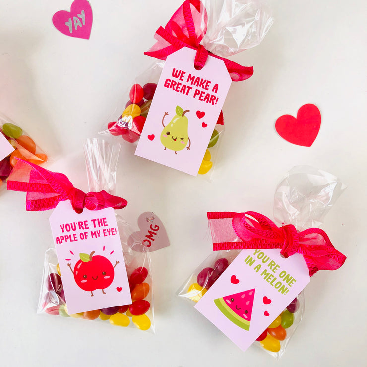 Valentines Fruits Printables