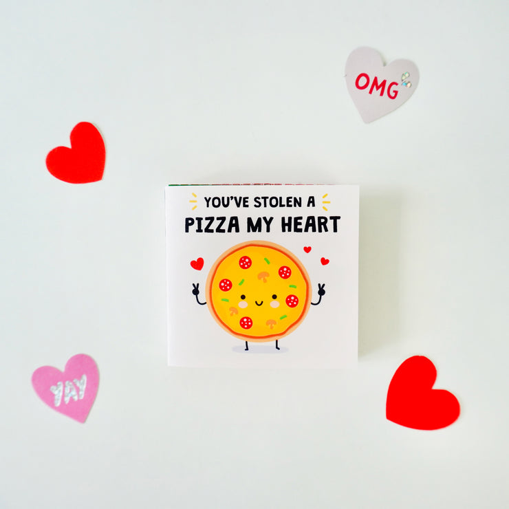 Valentines Pun Pizza my Heart Printable
