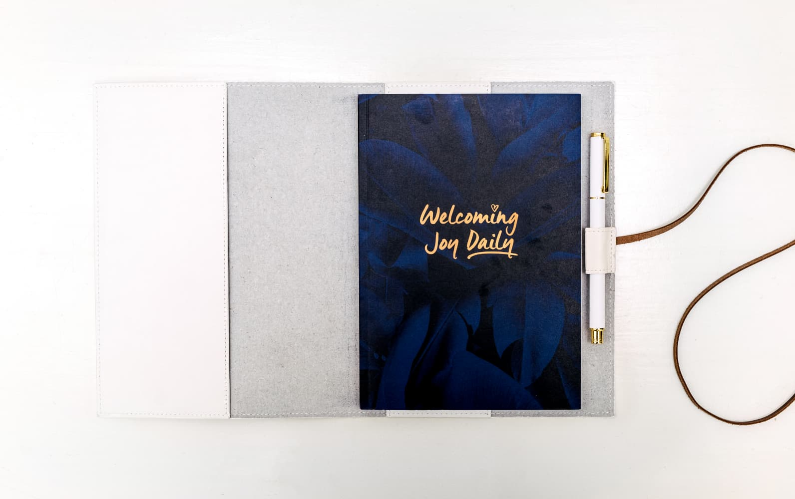 For High Achieving Individuals <br> White cover + new journal every month <br>