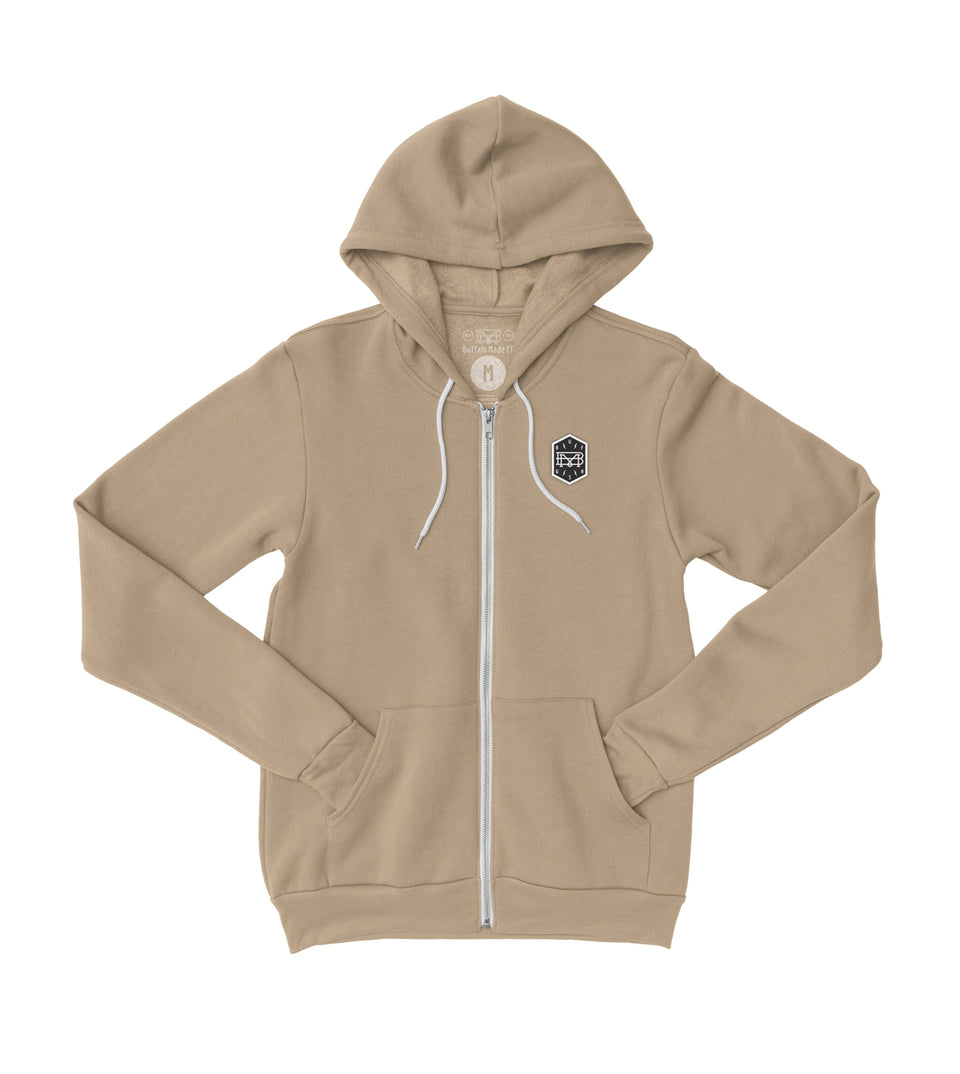 Sandstone Zip Up