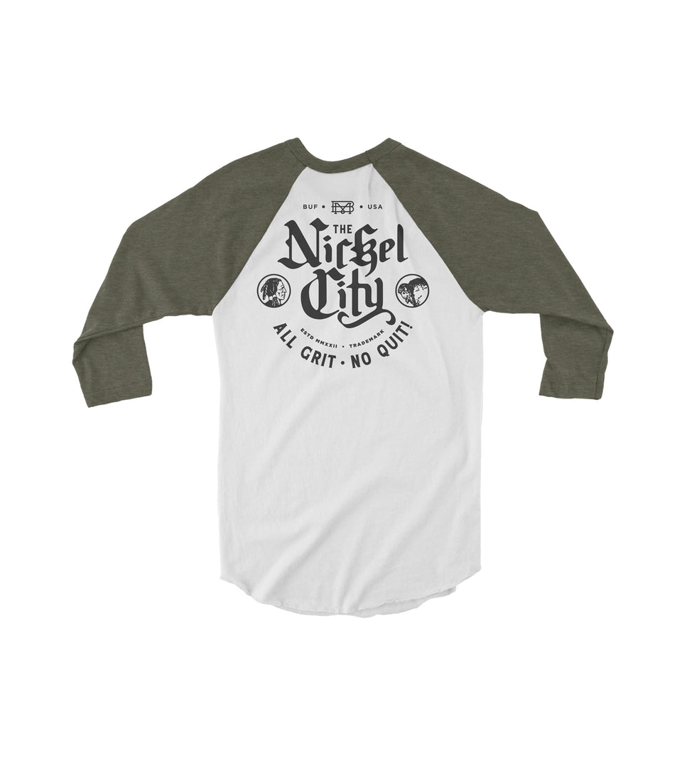 Nickel City Raglan