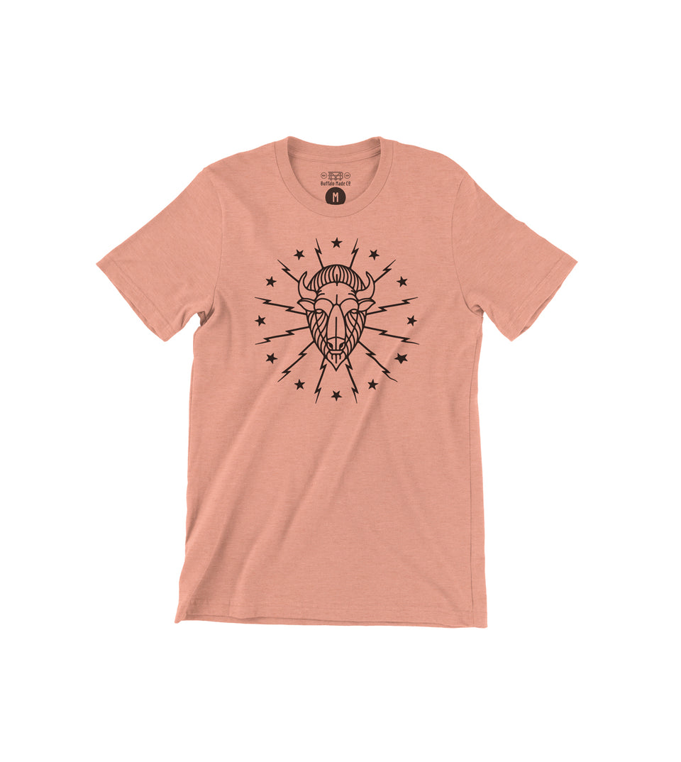 Strike Heather Peach Tee