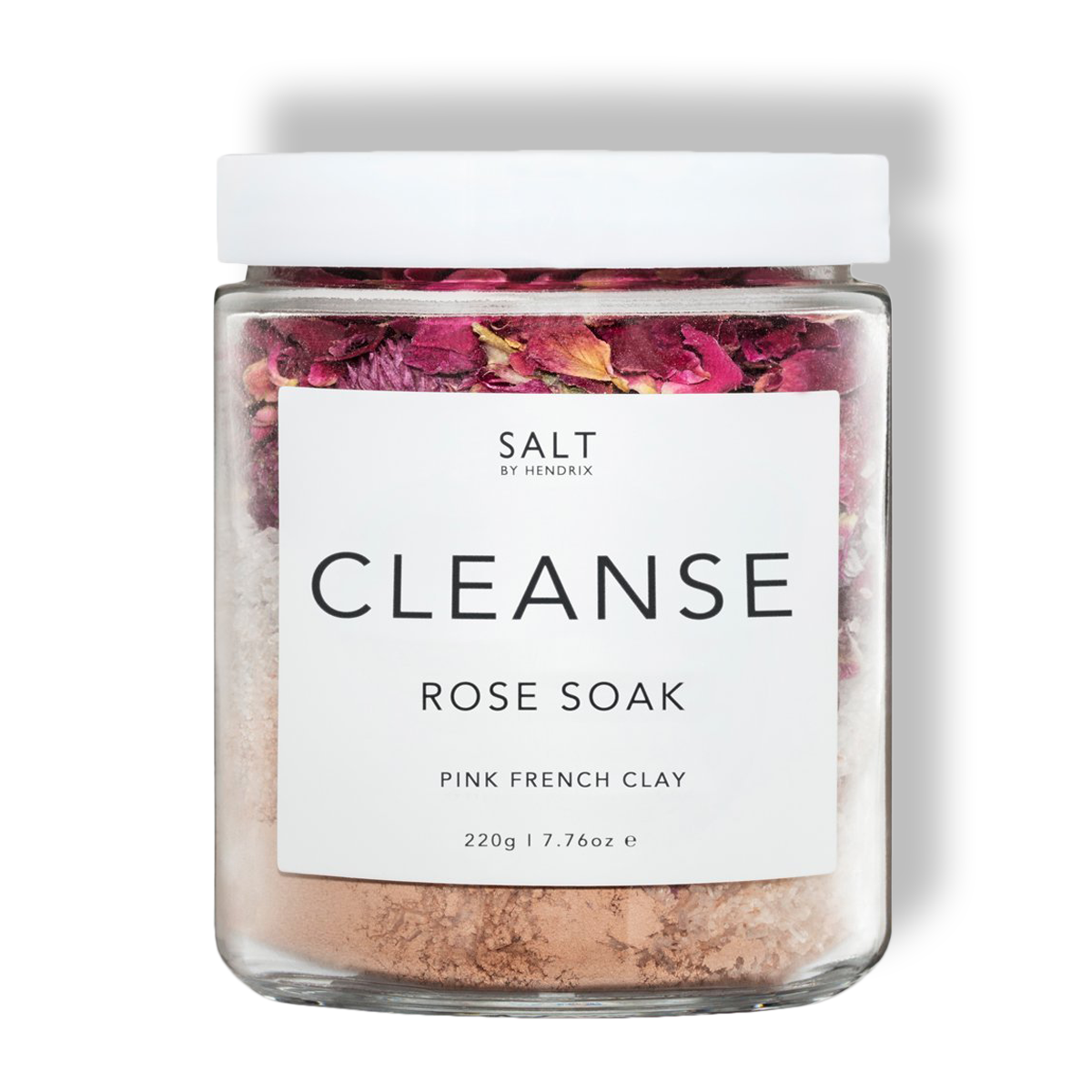 SALT - Cleanse Rose - Rose+Pink Clay