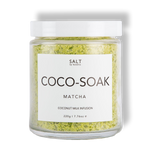 Bath Soak with Matcha & Coconut Milk by SALT