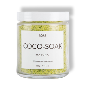 SALT - Cocosoak - Matcha & Coconut Milk