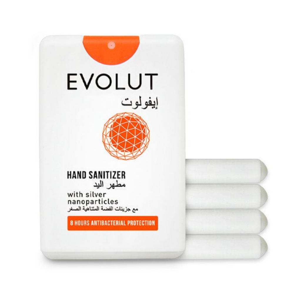 Value Kit (Set of 5 Organic Hand Sanitizers) by Evolut