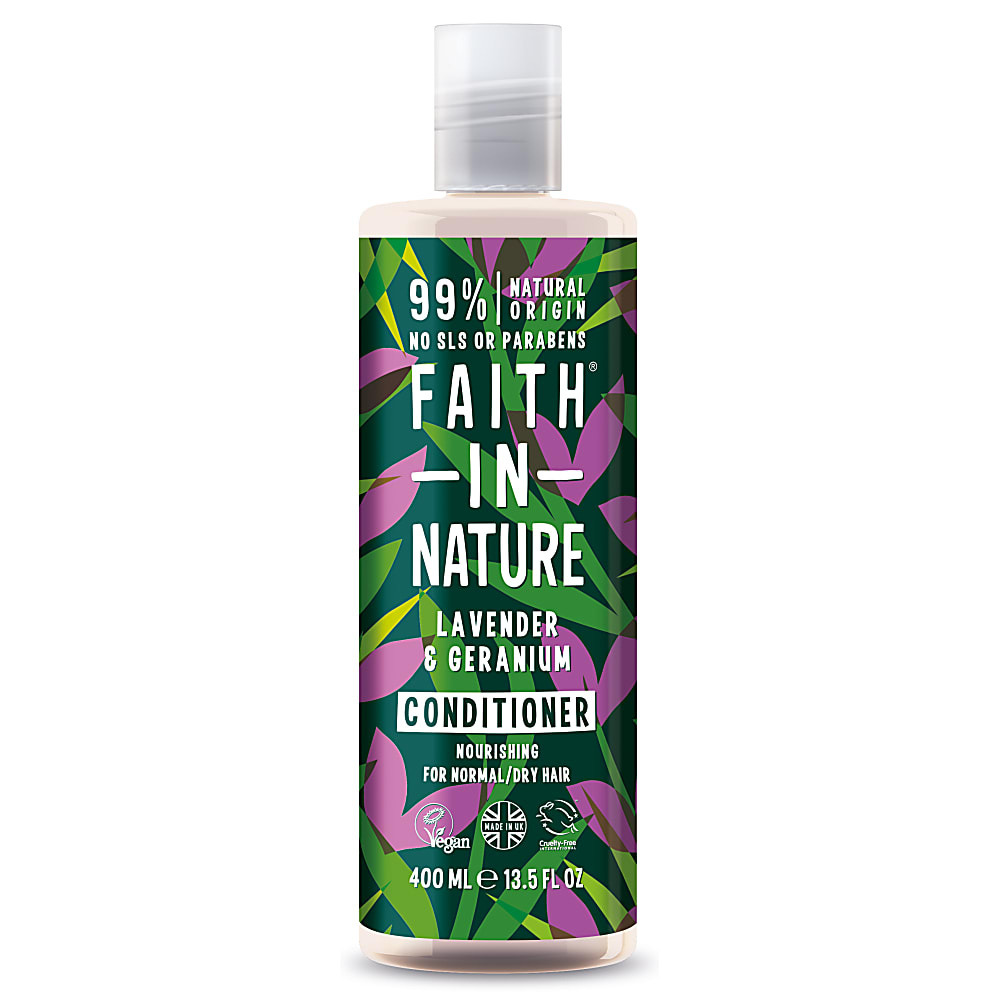 Lavender & Geranium Conditioner by Faith in Nature