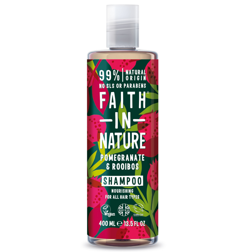 Pomegranate & Rooibos Shampoo by Faith in Nature