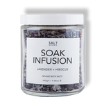 Vegan Bath Soak with Lavender & Hibiscus by SALT