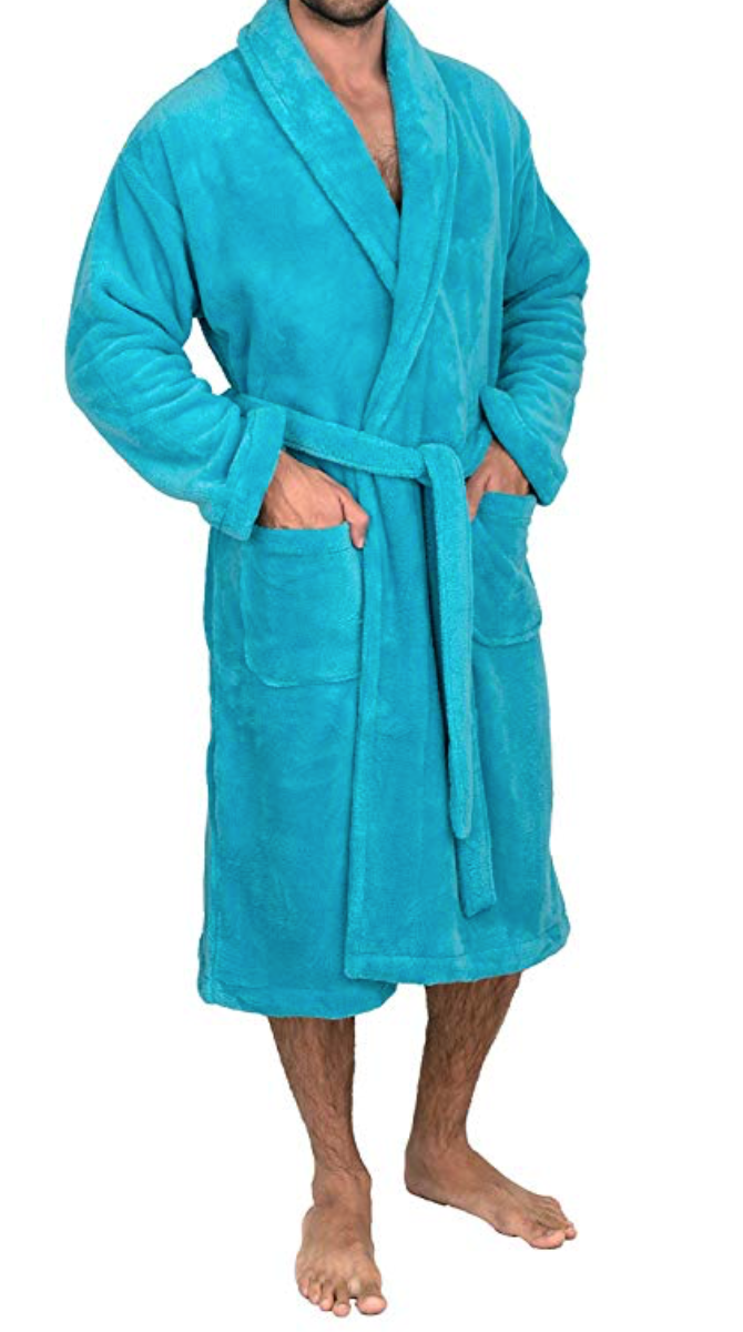 Classic Spa Bathrobe Unisex - Blue