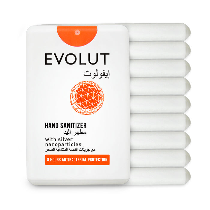 Protection Kit (Set of 10 Organic Sanitizers) by Evolut
