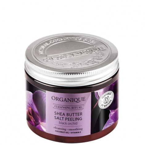 Hydrating Black Orchid Salt Body Scrub by Organique