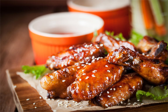 Honey-Sriracha Wings