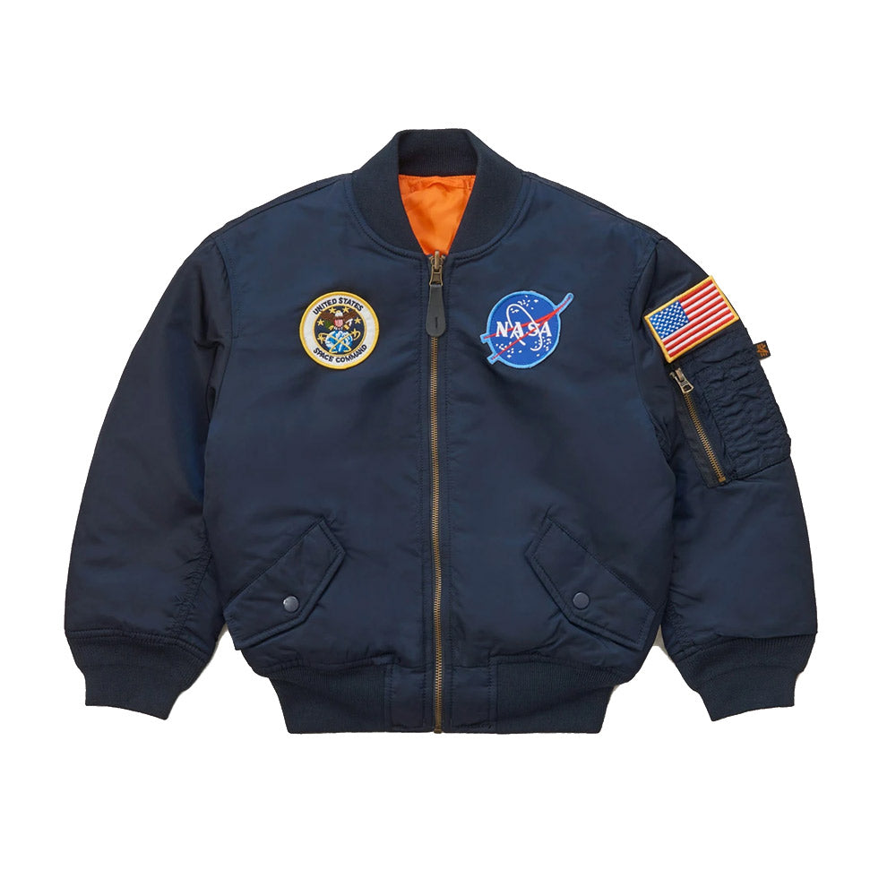 Chaqueta Alpha Ma-1 Niño Youth Nasa