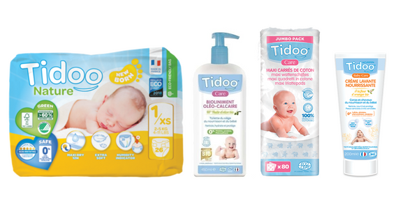 Pack Newborn Tidoo