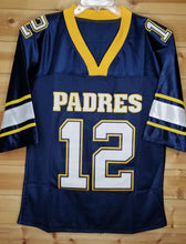 Load image into Gallery viewer, Tom Brady Padres High School Football Jersey Custom Throwback Retro Jersey