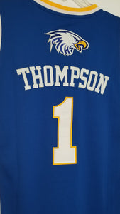 Klay Thompson Eagles High School Basketball Jersey (Away) Custom Throwback Retro Jersey