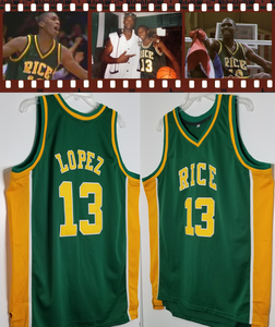"""The Dominican Dream"" Felipe Lopez Limited Series RICE High School Jersey"