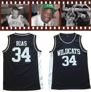 """Without Bias"" Len Bias Limited Series Wildcats High School Jersey"