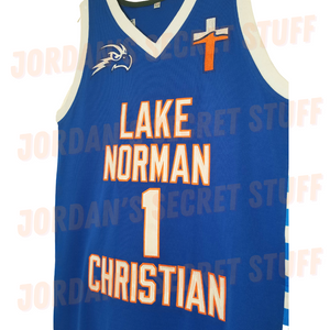 MIKEY *New 2021* Lake Norman Christian North High School Basketball Jersey