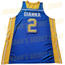 Load image into Gallery viewer, Gianna Middle School Jersey Fadeaway Shot Basketball Retirement