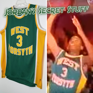Chris Paul West Forsyth High School Basketball Jersey Custom Throwback Retro Jersey