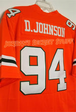 "Load image into Gallery viewer, Dwayne ""The Rock"" Johnson Miami College #94 Football Jersey Custom Throwback Retro Jersey"