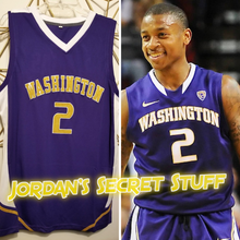 Load image into Gallery viewer, Isaiah Thomas Washington College Basketball Jersey Custom Throwback Retro College Jersey