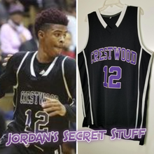 Load image into Gallery viewer, Ja Morant Crestwood High School Basketball Jersey Custom Throwback Retro Jersey