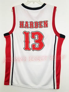 James Harden Artesia High School Basketball Jersey (Home) Custom Throwback Retro Jersey