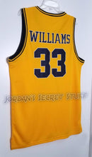Load image into Gallery viewer, Jason Williams Dupont High School Basketball Jersey Custom Throwback Retro Jersey