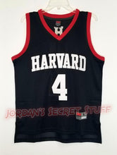 Load image into Gallery viewer, Jeremy Lin Harvard College Basketball Jersey Custom Throwback Retro College Jersey