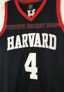 Jeremy Lin Harvard College Basketball Jersey Custom Throwback Retro College Jersey