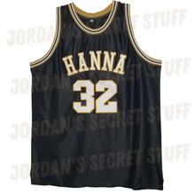 Load image into Gallery viewer, Chadwick Boseman High School Basketball Jersey Black Panther Wakanda JSS Exclusive