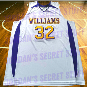 Duncan Robinson Division III Williams College Div-3 Basketball Jersey