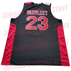 Fred VanVleet Auburn High School Basketball Jersey Custom Throwback Retro Jersey
