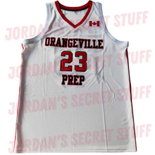 Load image into Gallery viewer, Jamal Murray Orangeville Prep High School Canada Basketball Jersey Custom Throwback Retro Jersey