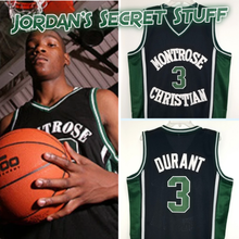 Load image into Gallery viewer, Kevin Durant Montrose Christian High School Basketball Jersey Custom Throwback Retro Jersey