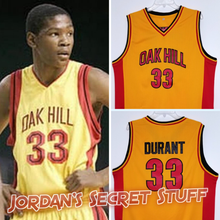 Load image into Gallery viewer, Kevin Durant Oak Hill High School Basketball Jersey Custom Throwback Retro Jersey