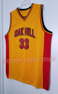 Kevin Durant Oak Hill High School Basketball Jersey Custom Throwback Retro Jersey