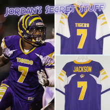 Load image into Gallery viewer, Lamar Jackson High School Football Jersey Tigers Custom Throwback Retro Jersey