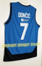 Load image into Gallery viewer, Luka Doncic Real Madrid EuroLeague Basketball Jersey (Blue) Custom Throwback Retro Jersey