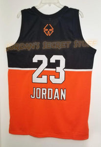 Michael Jordan Stefanel EuroLeague Basketball Jersey Custom Throwback Retro Jersey