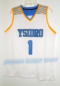 Mikey Williams High School Jersey Ysidro Basketball San Diego HBCU